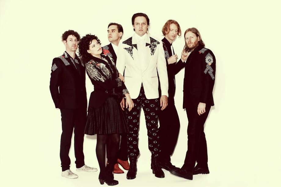 Arcade Fire Photo: Guy Aroch