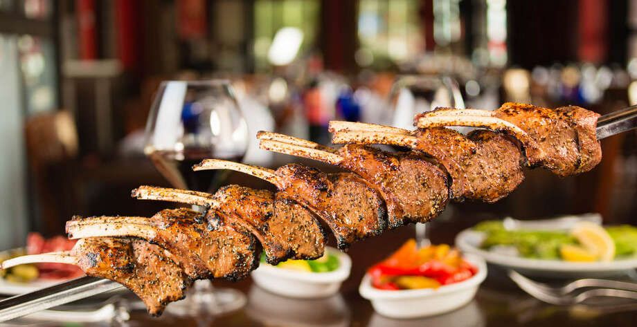 Lamb chops as served at Facón Brazilian Steakhouse. Photo: Courtesy Photo, CARSTEN HOWITZ / CARSTEN HOWITZ