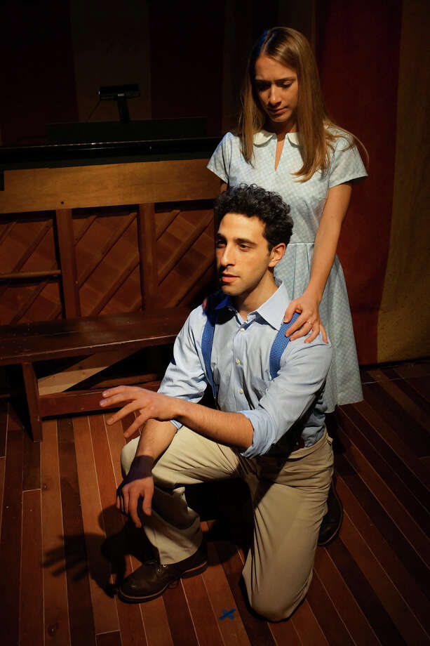"Jacob Heimer and Carissa Massaro play the young lovers in the classic musical ""The Fantasticks"" at Music Theatre of Connecticut in Westport from Friday, April 11 through May 4. Photo: Contributed Photo, Contributed Photo / Connecticut Post Contributed"