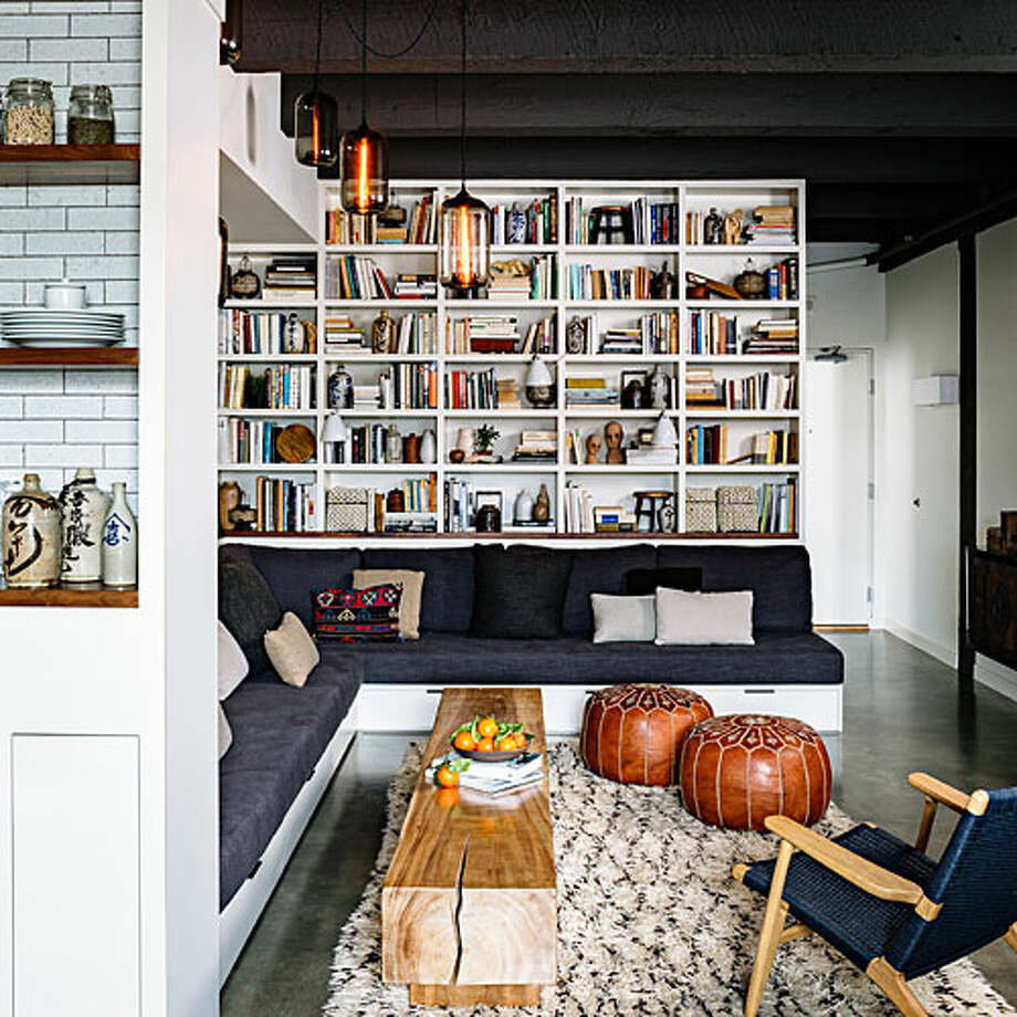 10 Creative Examples For Dividing Small Spaces: 10 Creative Small-living Ideas From A Portland Loft