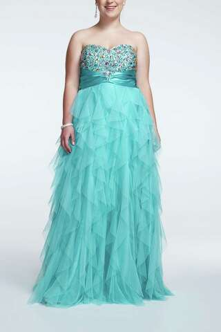 Prom dress shopping perilous for plus-size girls - Houston ...