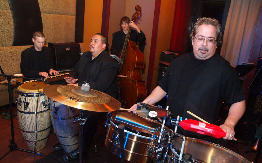 Henry Brun (right) and the Latin Playerz will show-case their new CD Tuesday at the Hard Rock Café. Photo: Express-News File Photo / SPECIAL TO THE EXPRESS-NEWS