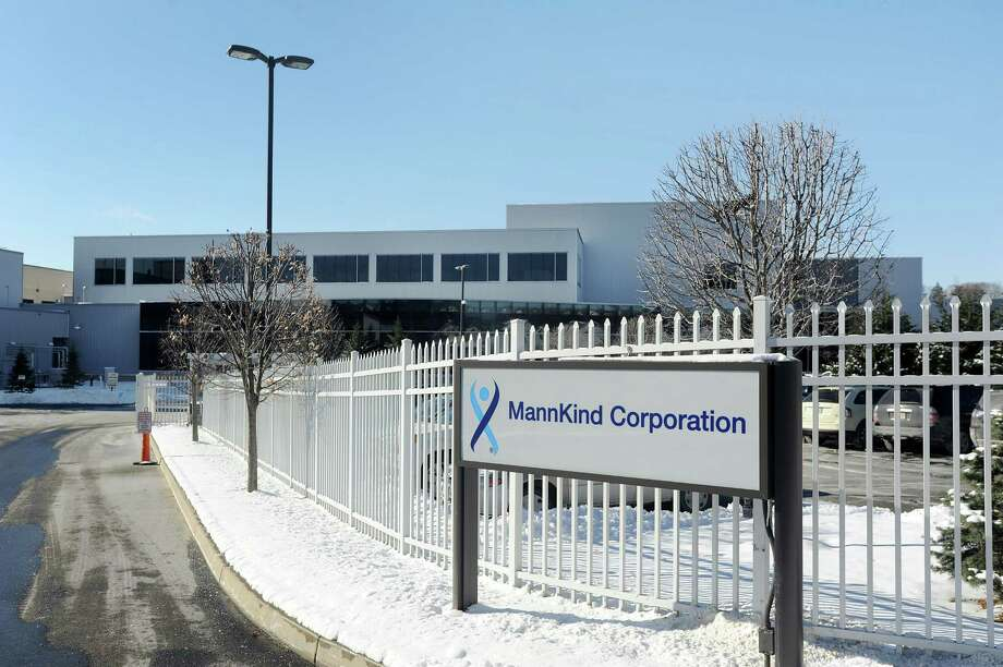 Danbury based Mannkind expects to triple the manufacturing of Afrezza, an inhalable form of insulin approved last summer by the FDA. Photo: Cathy Zuraw / The News-Times