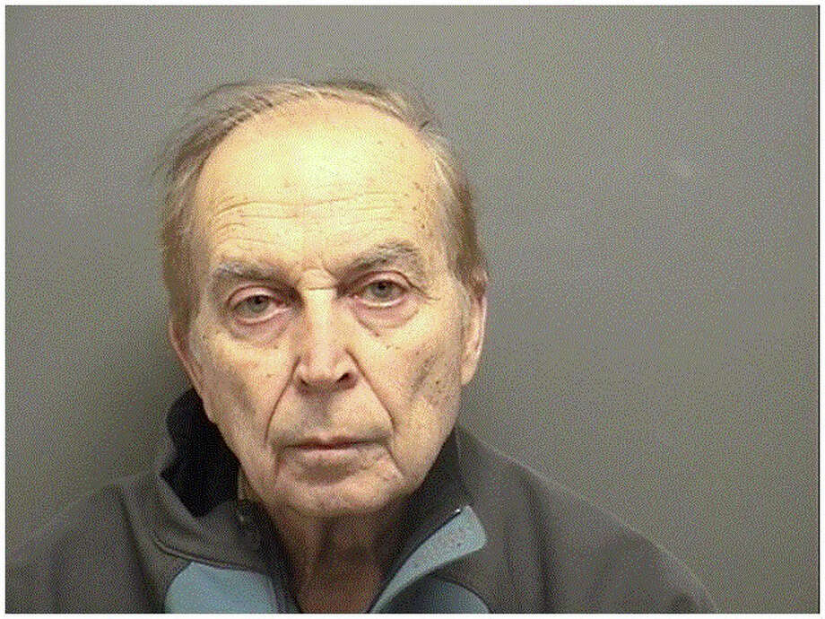 Robert George, 73, was arrested for allegedly hitting and kicking his 73-year-old wife. Photo: Contributed Photo, Contributed / Darien News Contributed
