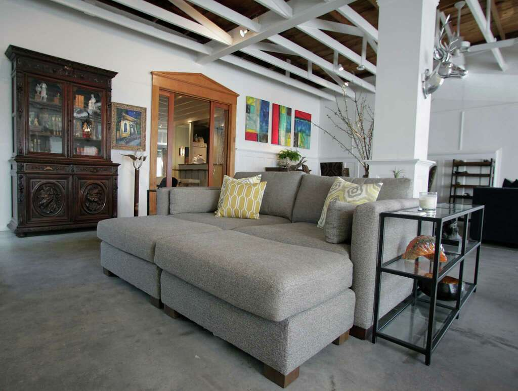 houston couple u0027s historic heights home was once a grocery store