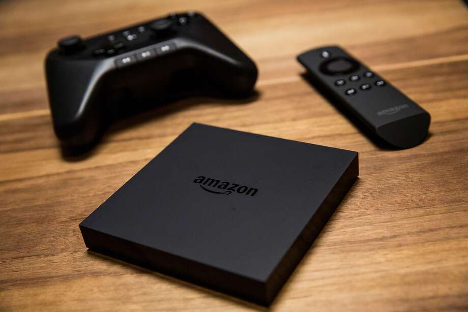 Amazon Fire TV's size and voice search are advantages, analysts say. Photo: Andrew Burton, Getty Images