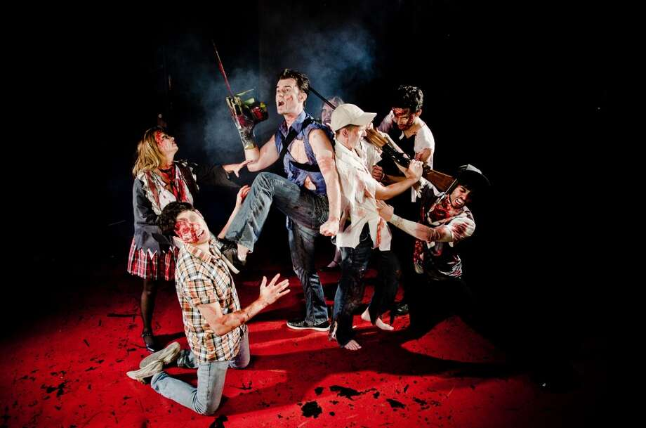 "For those who think TV zombie entertainment is just not real enough: ""Evil Dead: The Musical"" Photo: Courtesy James Teninty"