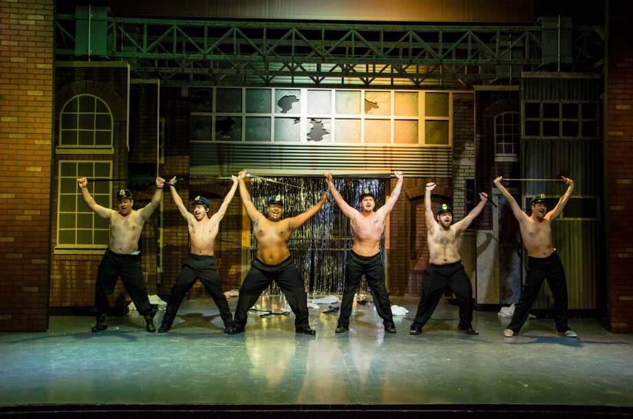 "For people who want to see half-dressed men dancing without setting foot inside a Chippendale's: ""The Full Monty"" Photo: Siggi Ragnar, Courtesy Photo"