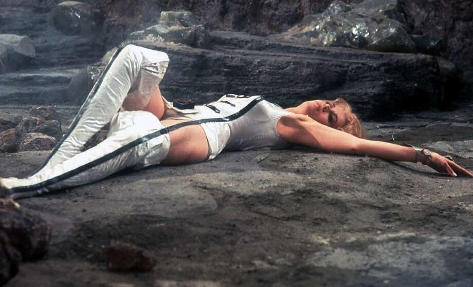 "For the futuristic sexy space adventurer in all of us: ""Barbarella"" Photo: AP"
