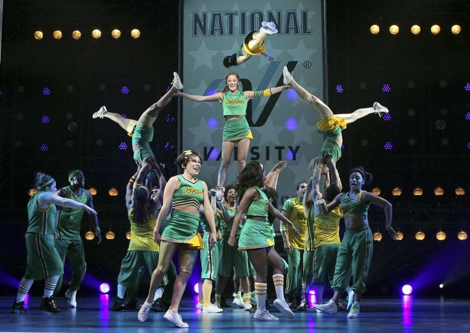 "For anyone with an overly cheery disposition who can still bring the smackdown if the situation calls for it: ""Bring It On: The Musical"" Photo: SARA KRULWICH, NYT"