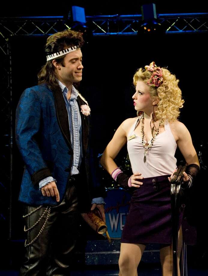 """For big hair fans who thought the singing was the best part of this movie: """"The Wedding Singer"""" Photo: PHIL MARTIN"""