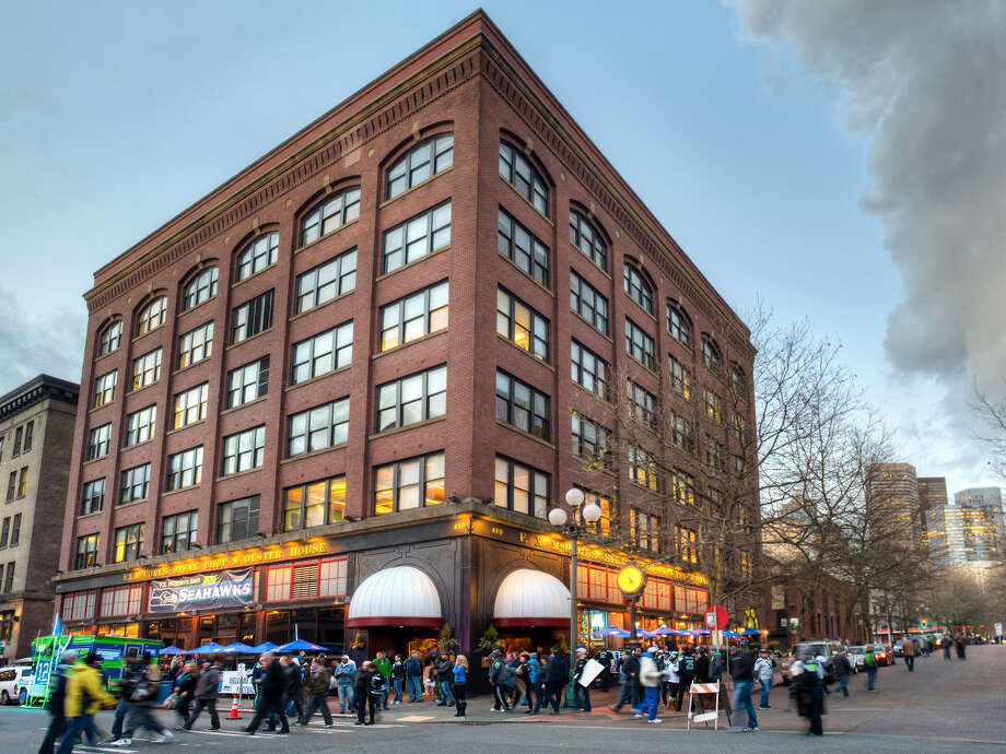 Manchester Capital Management has bought 419 Occidental Ave. S. for $17.55 million from Intracorp Real Estate. The 85,725-square-foot building, across from CenturyLink field, is home to F.X. McRory's bar and restaurant, with office above. Photo: Courtesy Kidder Matthews