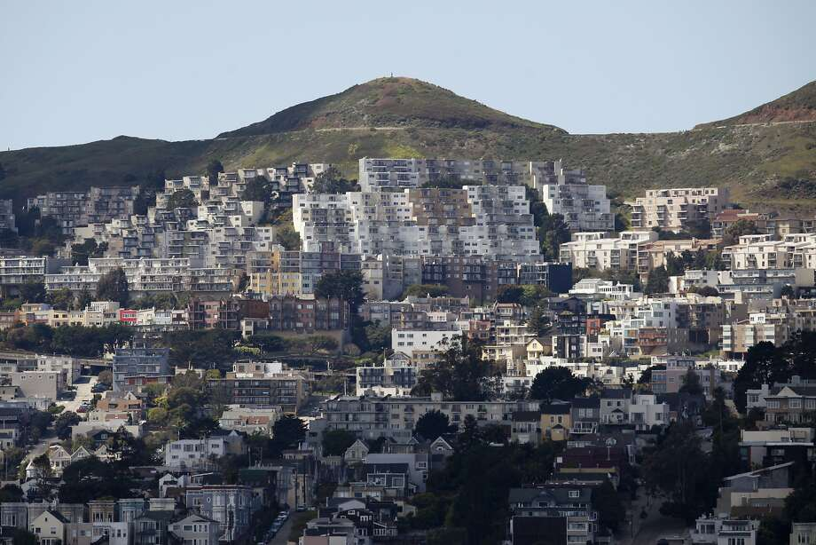 San Francisco's housing density helped it rank just behind New York in the study released Wednesday. Photo: Pete Kiehart, The Chronicle
