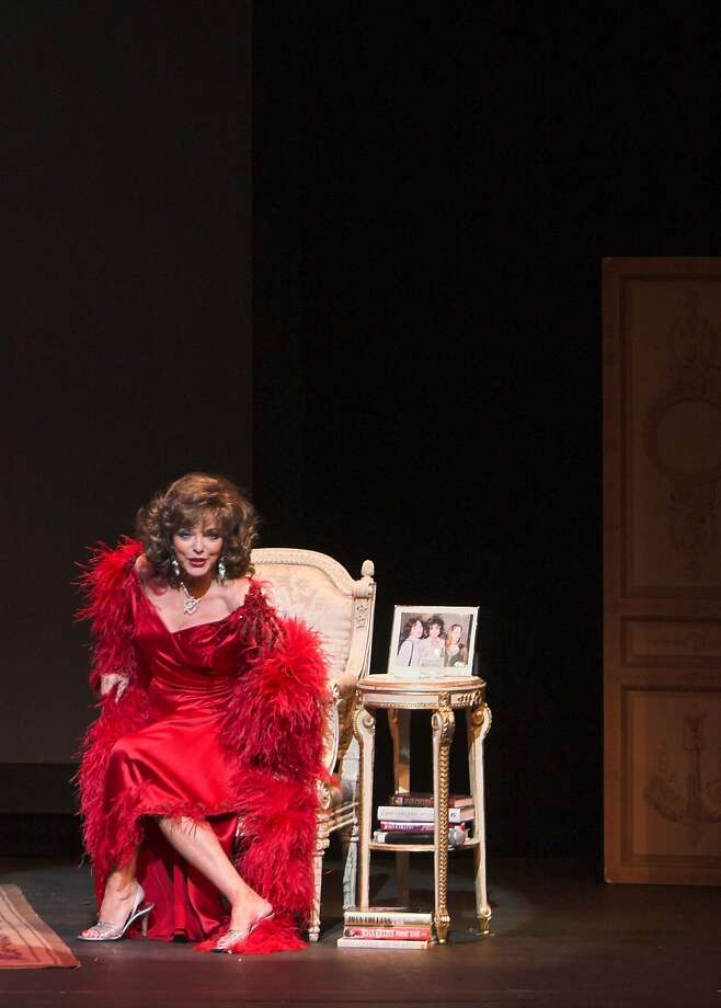 "Joan Collins in ""One Night with Joan."" Photo: Courtesy Feinstein's At TheNikko"