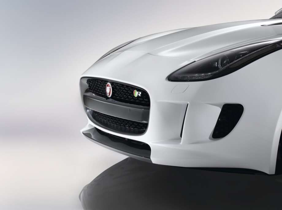 The 2015 Jaguar F-Type coupe Photo: Courtesy Of Jaguar