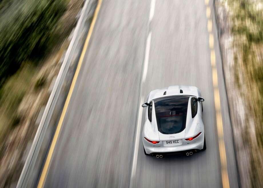 The 2015 Jaguar F-Type coupe Photo: Courtesy Of Jaguar