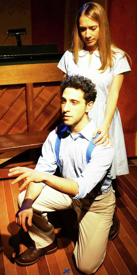 Jacob Heimer and Carissa Massaro star in the Music Theatre of Connecticut  MainStage production of 'The Fantasticks,' running April 11  through May 4 in Westport. Photo: Contributed Photo / Westport News