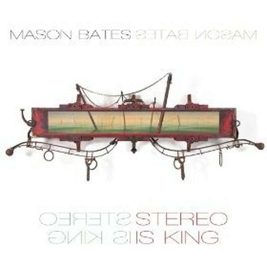 "cd cover ""Stereo Is King"" by Mason Bates Photo: Innova, Amazon.com"