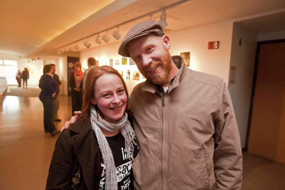 """Were you Seen at the screening of """"Being Ginger,"""" a documentary by Scott P. Harris, sponsored by The League of Extraordinary Red Heads, at the Arts Center of the Capital Region in Troy on Wednesday, April 2, 2014? Photo: Erin Pihlaja / Downtown Troy BID"""