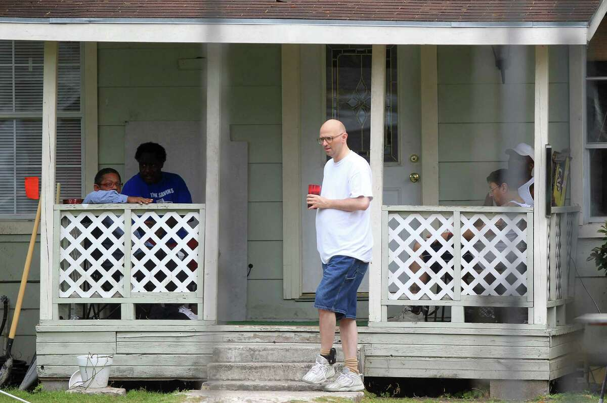 The high-risk sex offenders living at a halfway house in the Acres Homes community must wear ankle monitors while in civil custody after finishing their prison sentences.