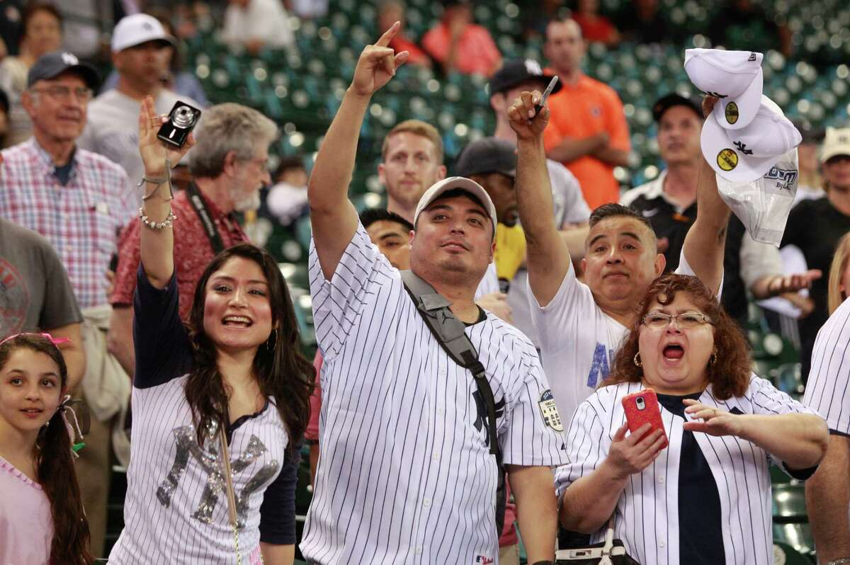 MLB: New York Yankees Everyone loves a winner, and the Yankees have won more than any other franchise in North American pro sports, with 27 World Series championships. That doesn't make their fans who pop up in every visiting ballpark any less annoying, though.