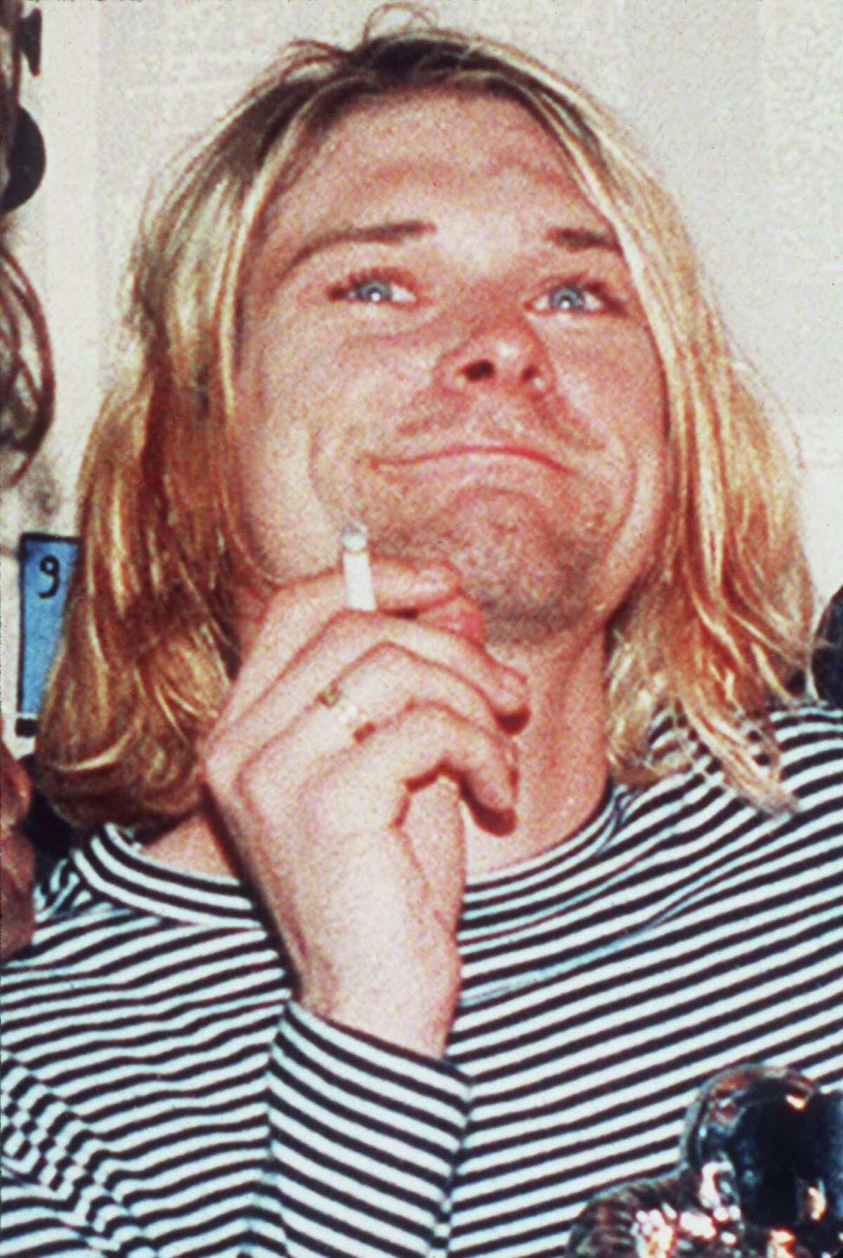 Kurt Cobain, pictrued in 1993.