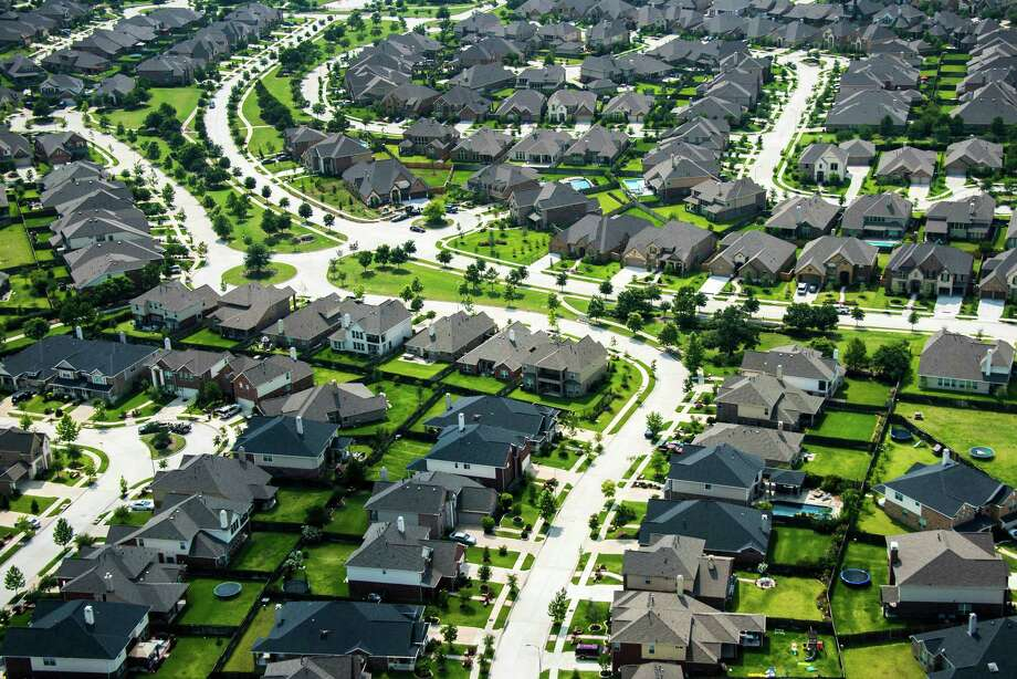 Aerial view of Bridgeland, an 11,400-acre master-planned community in the northwest Houston suburb of Cypress, TX, photographed on Thursday, May 23, 2013. Photo: Smiley N. Pool, Houston Chronicle / © 2013  Houston Chronicle