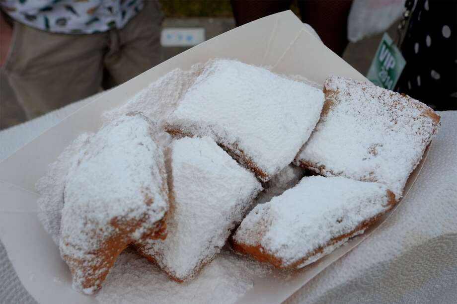 Z's Beignets at the South Texas State Fair. Photo taken Friday, March 28, 2014 Guiseppe Barranco/@spotnewsshooter