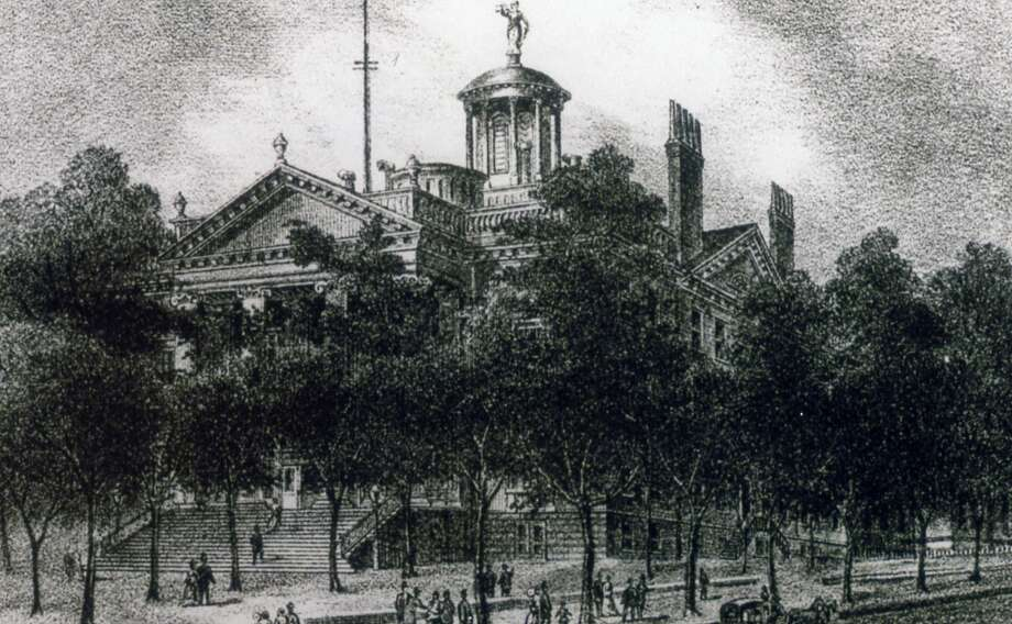 Capitol of 1808, undated, Albany, N.Y. (New York State Archives)