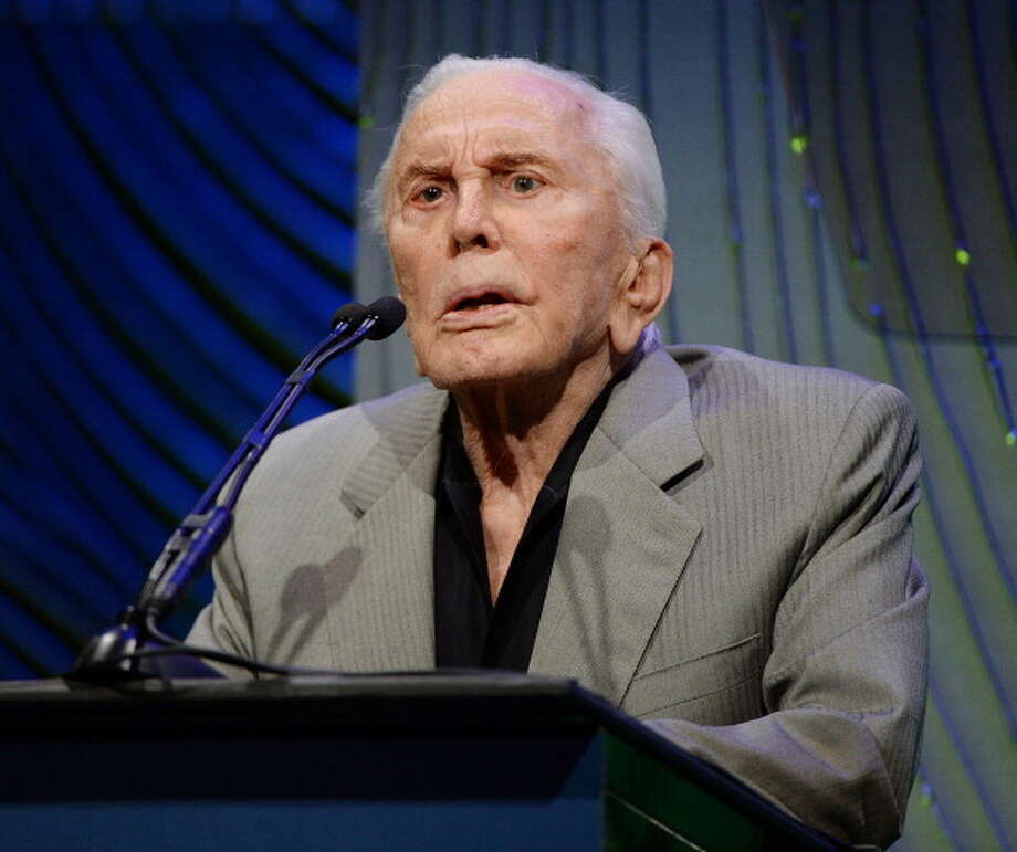 "Kirk Douglas, 2013He last appeared in the TV movie ""Empire State Building Murders"" in 2008. Photo: Michael Kovac, Getty Images / 2013 Michael Kovac"