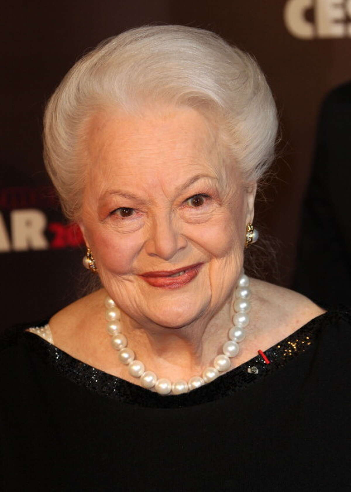 Olivia de Havilland, 2011 She hasn't acted since the late 1980s, but still narrates documentaries as recently as 2011.