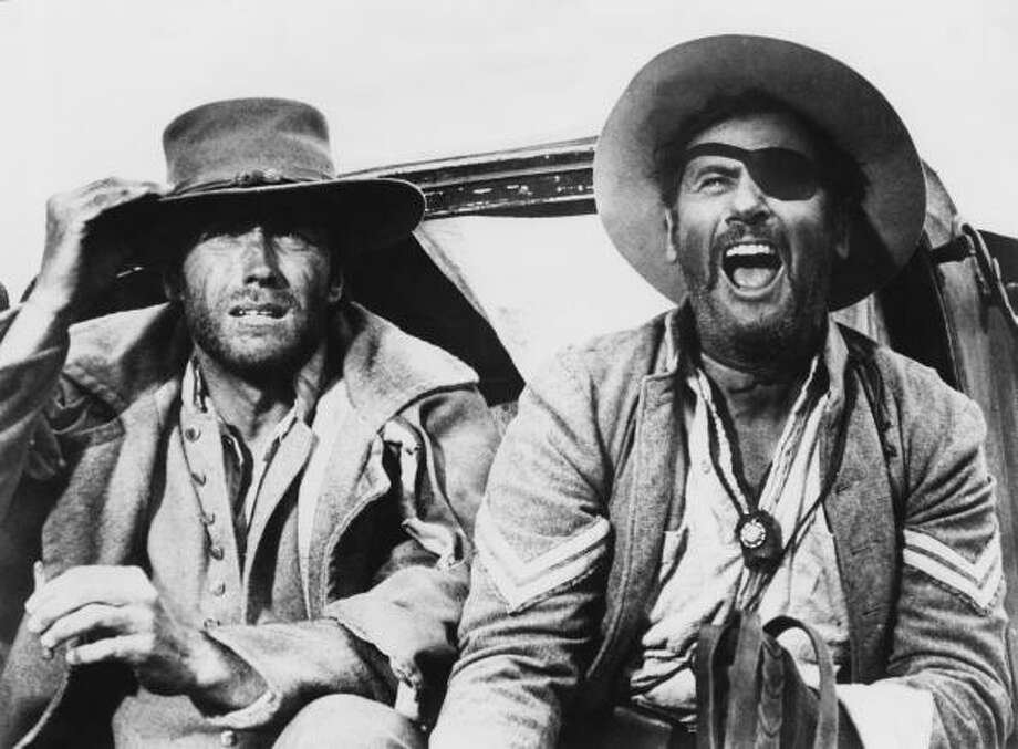 Clint Eastwood as 'Blondie' and Eli Wallach as Tuco in the western 'The Good, the Bad and the Ugly', 1966. Photo: Archive Photos, Getty Images / 2010 Getty Images