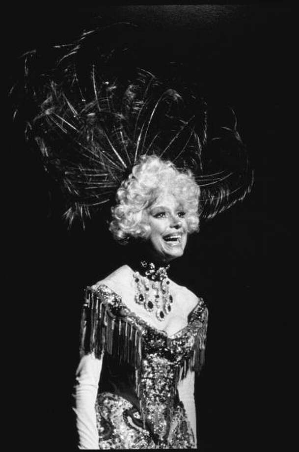 """Carol Channing, circa 1960Born:Jan. 31, 1921The comedian and actress, seen here in the stage musical """"Hello Dolly,"""" enjoyed a long run on """"The Love Boat."""" Photo: Ray Fisher, Getty Images / Ray Fisher"""