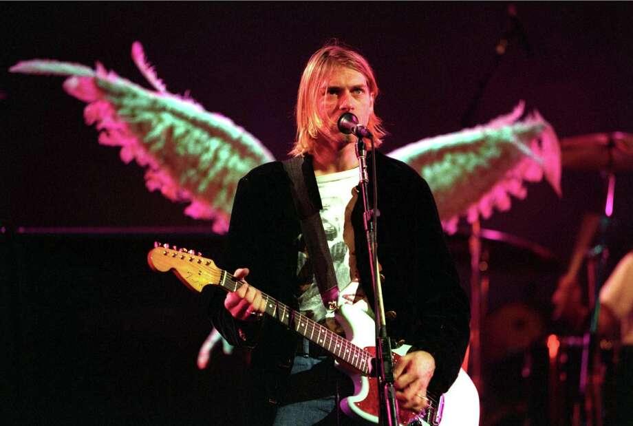 Kurt Cobain of Nirvana. Photo: Jeff Kravitz, FilmMagic / FilmMagic, Inc