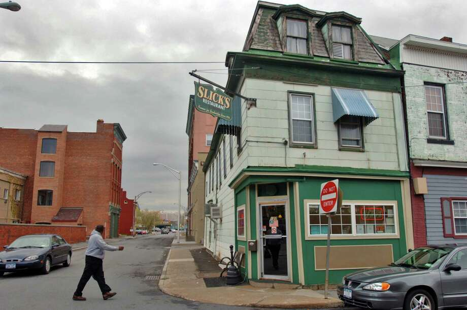 If you're in the mood for something different, you may want to try Slick's Tavern, located at 127 S. Ferry St. in Schenectady. Phone: 518-370-0026. Visit Facebook page. Photo: PHILIP KAMRASS, DG / ALBANY TIMES UNION
