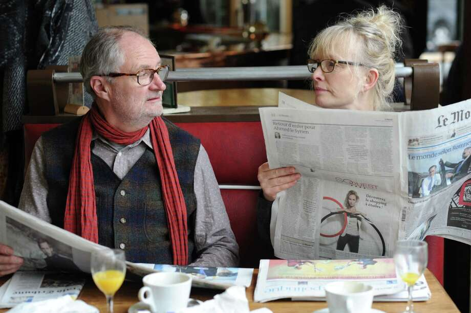 Jim Broadbent and Lindsay Duncan play a couple attempting to rekindle their relationship by heading to Paris for a 30th wedding anniversary celebration. Photo: Nicola Dove