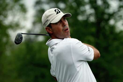 HUMBLE, TX - APRIL 03:  Matt Kuchar of the United States watches his tee shot on the ninth hole during round one of the Shell Houston Open at the Golf Club of Houston on April 3, 2014 in Humble, Texas. Photo: Scott Halleran, Getty Images / 2014 Getty Images