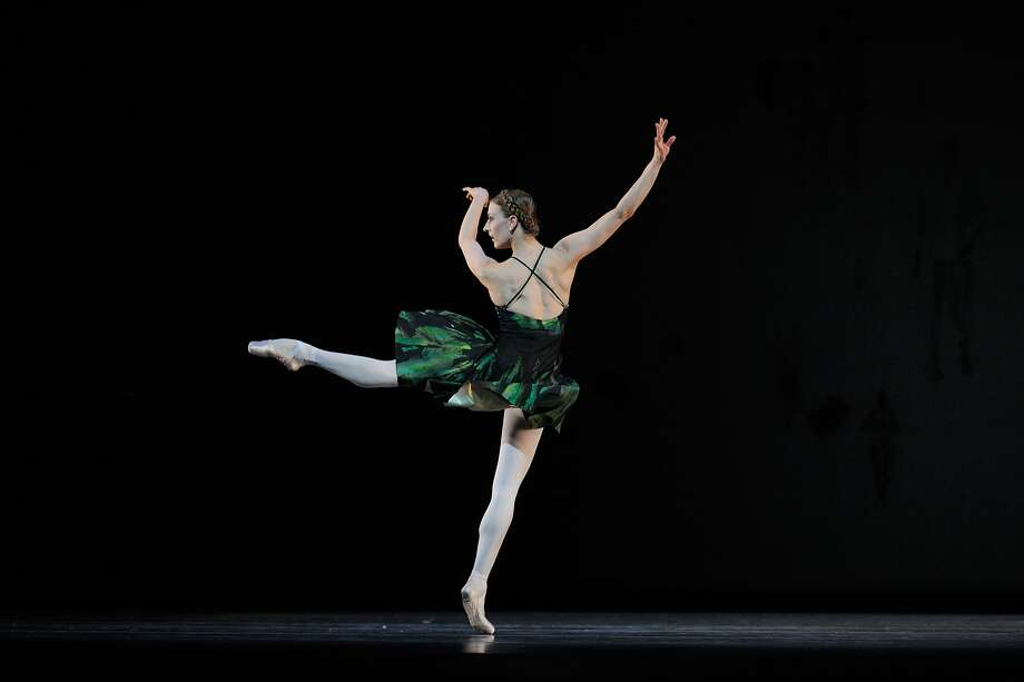 "Simone Messmer in ""Shostakovich Trilogy."" Photo: Erik Tomasson, San Francisco Ballet"
