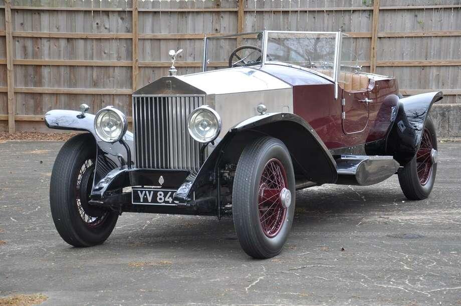 1929 Rolls Royce Phantom Boat-Tail  Tourer. Photo: Motostalgia Auctions