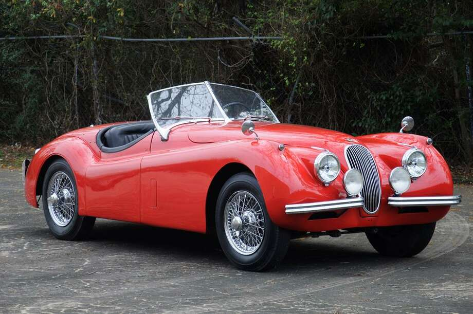 1954 Jaguar XK120 roadster. Photo: Motostalgia Auctions