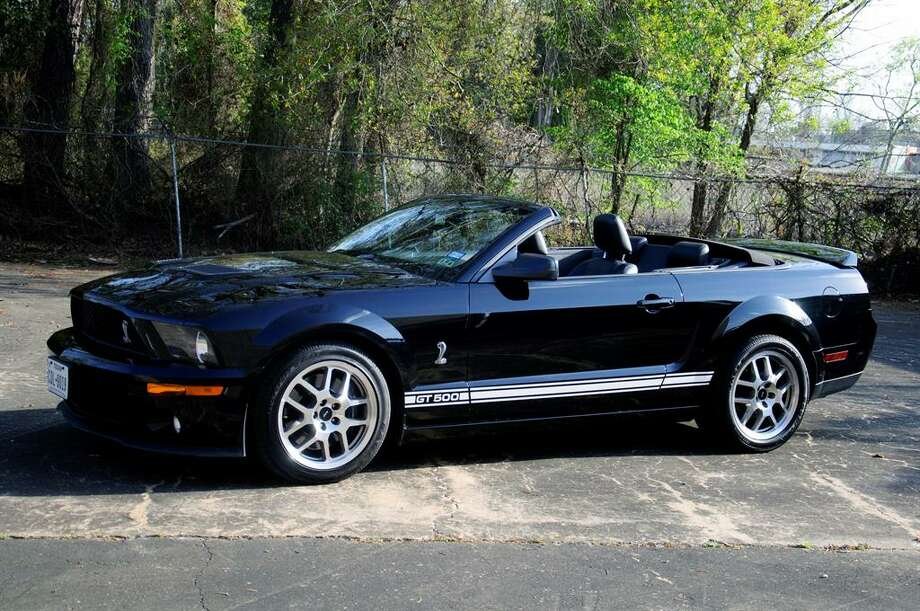 2007 Ford Shelby GT500. Photo: Motostalgia Auctions