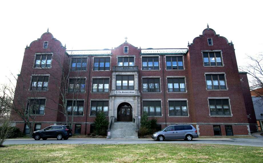 200 Strawberry Ave. in Stamford, Conn., on Thursday, April 3, 2014, about which the Board of Education's Operations Committee will vote and could approve the city's purchase of the property. Photo: Lindsay Perry / Stamford Advocate