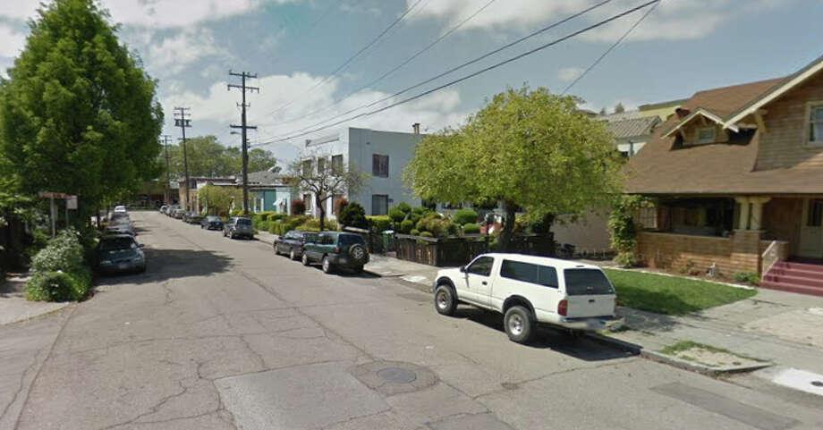 1100 block of Addison Street in Berkeley, CA. Photo: Google Maps