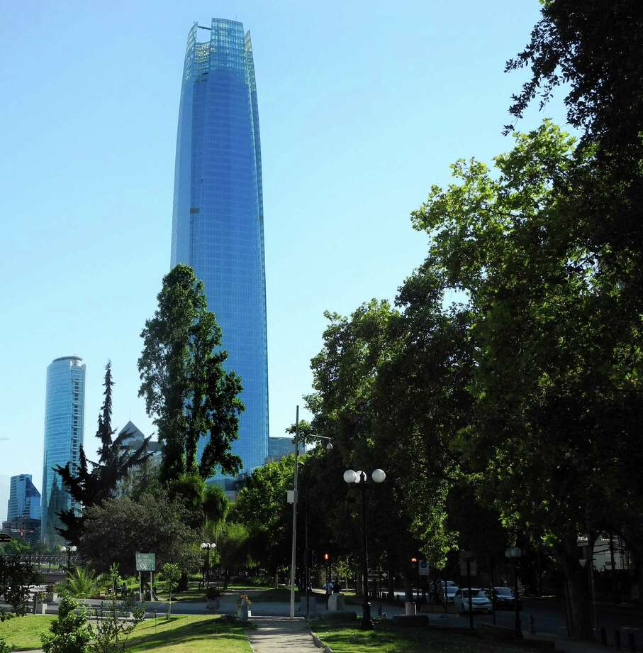 Santiago, Chile, home to 6 million residents, boasts the tallest building in Latin America, the Gran Torre Santiago. / © 2014 San Antonio Express-News