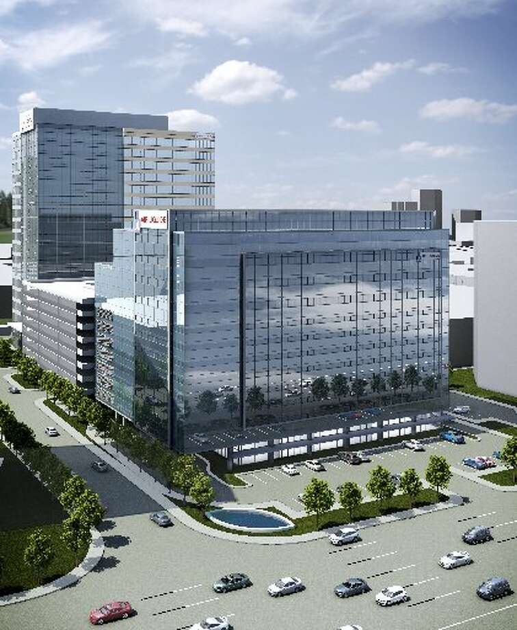 Air Liquide has pre-leased space in two buildings being developed by MetroNational at Memorial City.  Air Liquide Center will have a 20-story tower with 452,000 square feet and an adjacent 12-story building with 145,000 square feet. The buildings are at 9811 and 9807 Katy Freeway. Photo: MetroNational