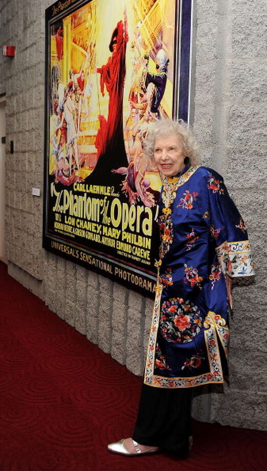 "One of the very last silent film players. Laemmele recently completed work on a 2014 movie, ""Mansion of Blood"", at 104 years of age! Born: October 20, 1909 Photo: Valerie Macon, Getty Images / 2012 Getty Images"