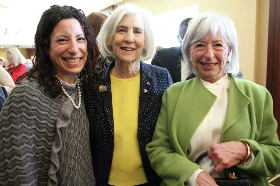 Eight hundred thirty-four guests were in attendance at the FCCF Fund for Women and Children Annual Luncheon with guest speaker, Dr. Maya Angelou on April 3. Were you SEEN there? Photo: P. Ha-Stevenson / Hearst Connecticut Media Group