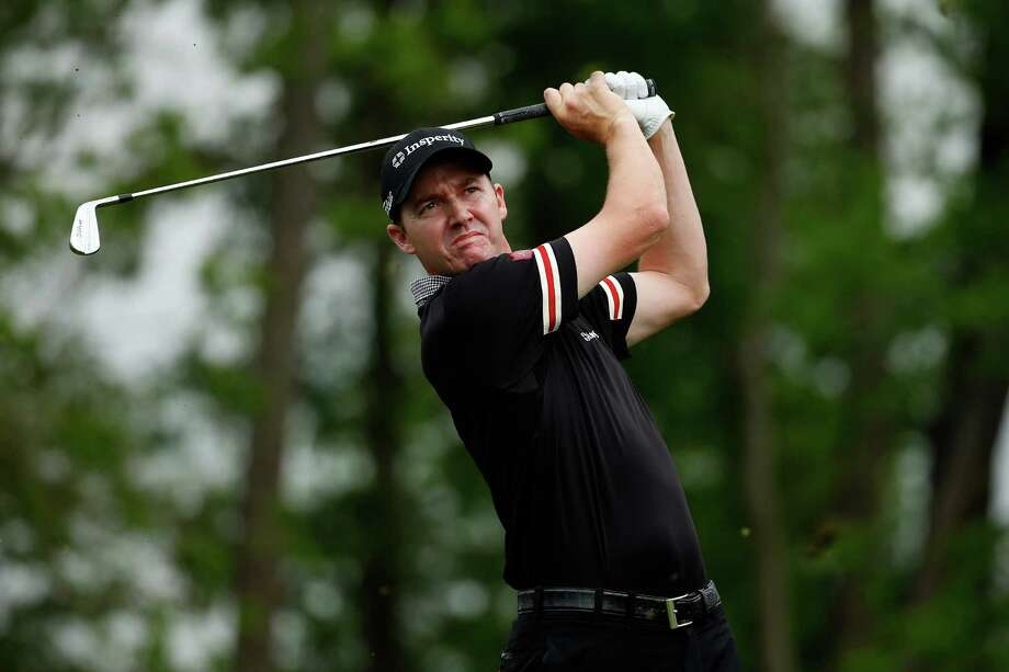 HUMBLE, TX - APRIL 03:  Jimmy Walker of the United States watches his tee shot on the ninth hole during round one of the Shell Houston Open at the Golf Club of Houston on April 3, 2014 in Humble, Texas. Photo: Scott Halleran, Getty Images / 2014 Getty Images