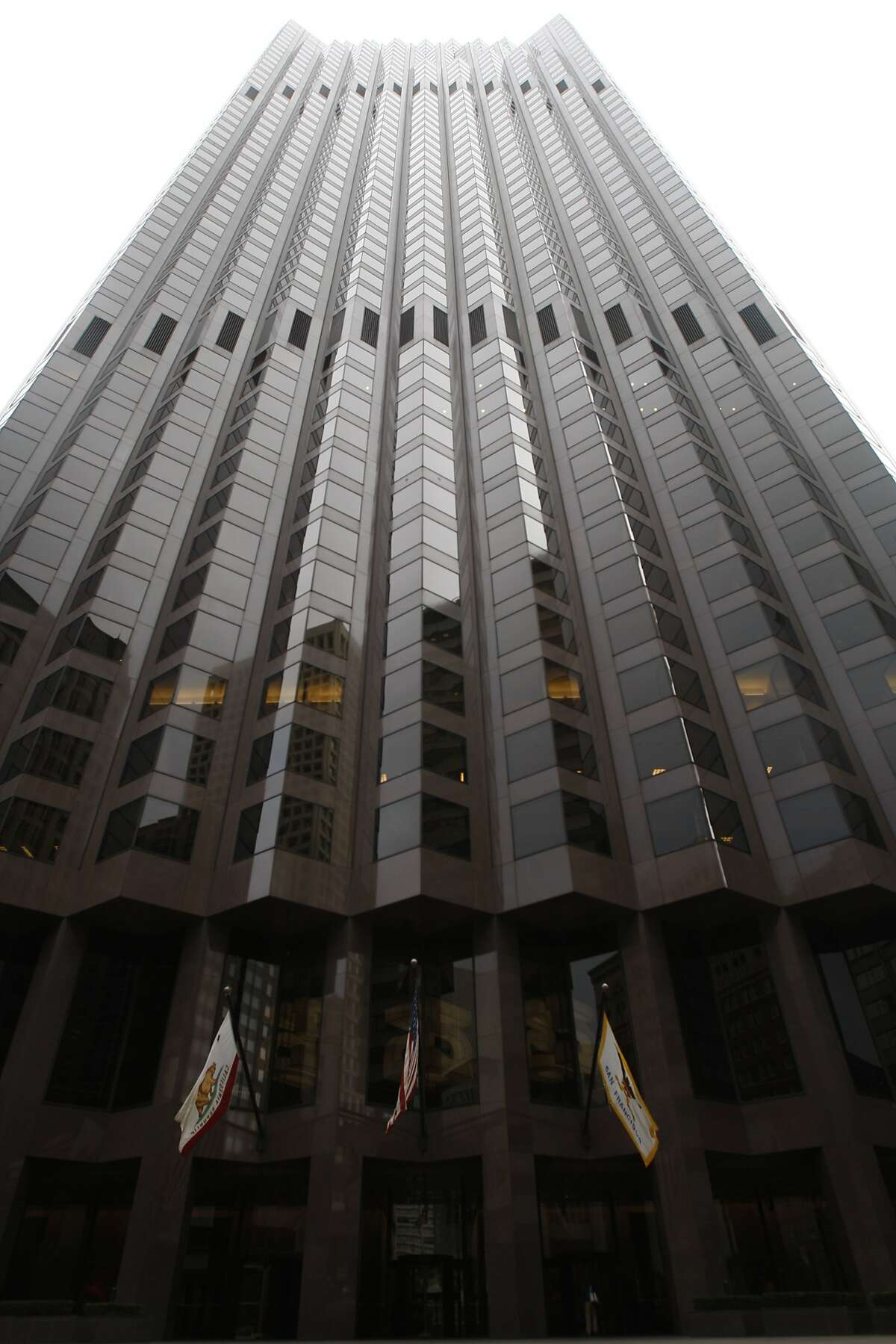 555 California in San Francisco office space photographed on Thursday, October 2, 2008.