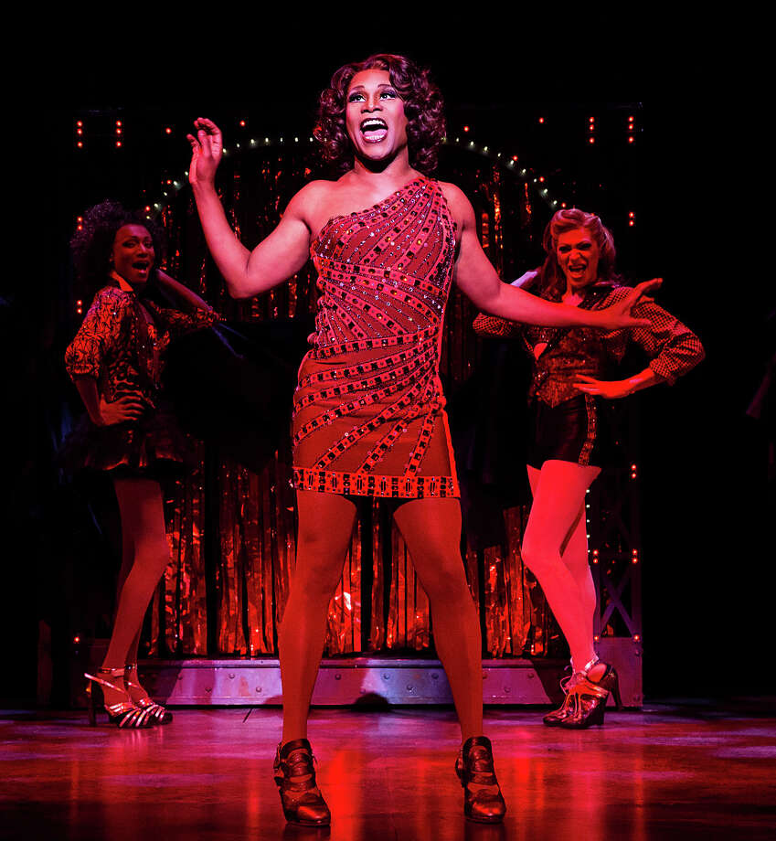 "FILE - This file publicity image released by The O+M Company shows Billy Porter during a performance of ""Kinky Boots."" The current Tony Award winning musical grossed $1,912,568 over eight performances during the week ending Sunday, Dec. 1, 2013, smashing the all-time house record at the Al Hirschfeld Theatre. It beat out the crown there held by the recent revival of ?How To Succeed in Business Without Really Trying,? which had one more performance. (AP Photo/The O+M Company, Matthew Murphy, File) ORG XMIT: NY118 Photo: Matthew Murphy / The O+M Company"